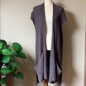 Free People Chunky Knit Sweater Vest